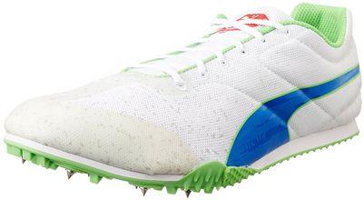 Puma Men's Tfx Star V3 White, Strong Blue and Fluro Green Sneakers - 11 UK/India (46 EU)