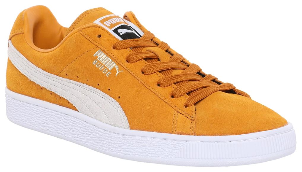 8e4c4f853de2 Puma Suede Classic + Mustard Yellow Sneakers for Men online in India ...