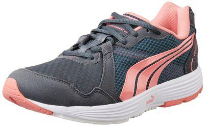 Puma Women's Descendant V2 Wn S Turbulence and Salmon Rose Running Shoes - 4 UK/India (37 EU)
