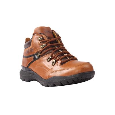 RED CHIEF Leather Tan Boots for Men