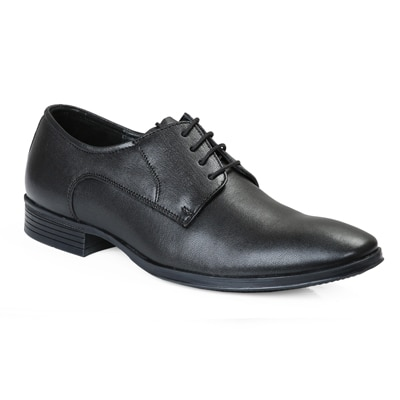 Red Chief Men RC1332A Black Formal Shoes