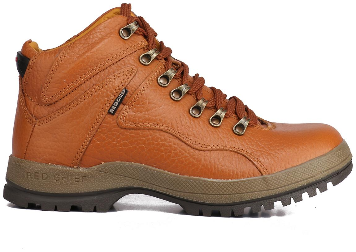 Tan Casual Leather Shoes Rc2506 107-5fW