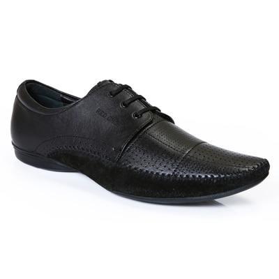 Red Chief Men RC1340A Black Formal Shoes