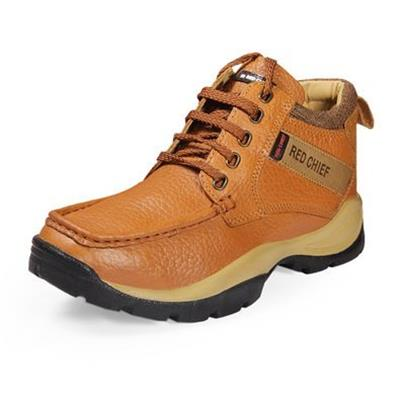 Red Chief TAN Lace Up Men Boots Shoes Shoes