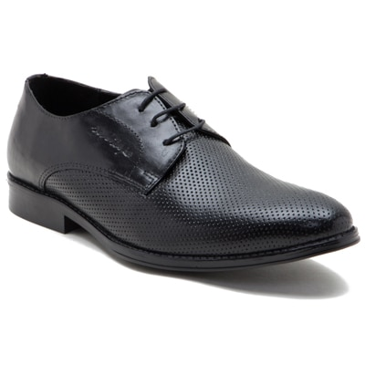 Red Tape Mens Black Leather Formal Shoes