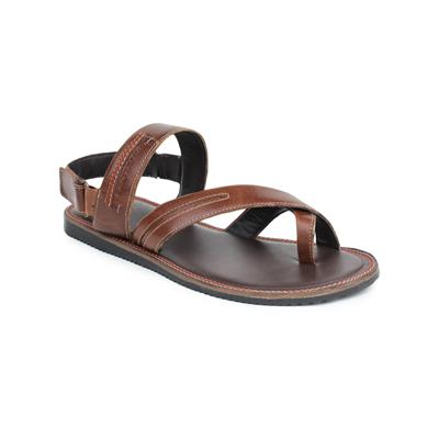 Red Tape Brown Casual Sandals