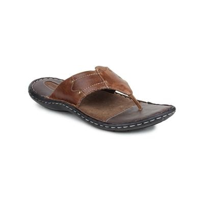 Red Tape Brown Casual Slippers