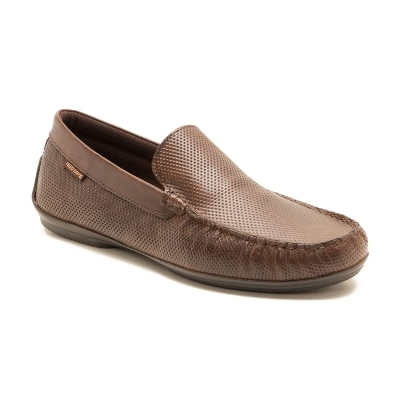 Red Tape Brown Loafers