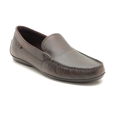 Red Tape Maroon Loafers