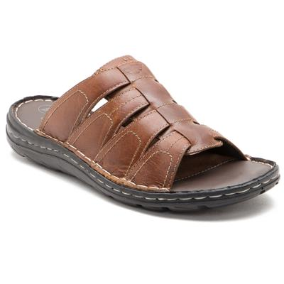 Red Tape Mens Brown Casual Slippers