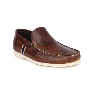 Red Tape Mens Tan Leather Loafer Shoes