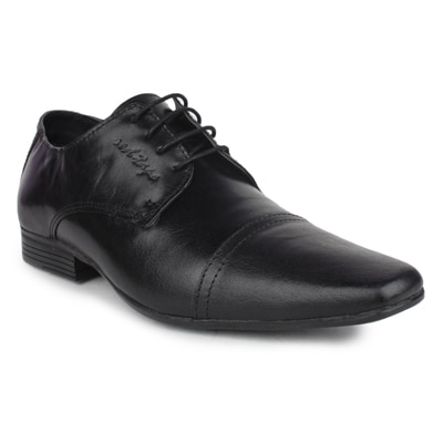 Red Tape RTR0651 Mens Black Leather Formal Shoes