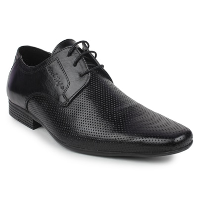 Red Tape RTR0541 Mens Black Leather Formal Shoes