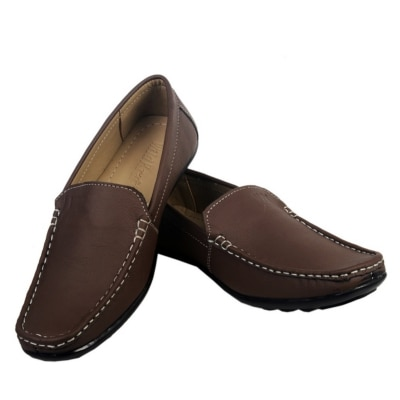 Redaliens Brown Leather Loafers