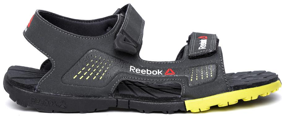 233630a8d5dcb Reebok Chrome Rider Dark Grey Floaters for Men online in India at ...