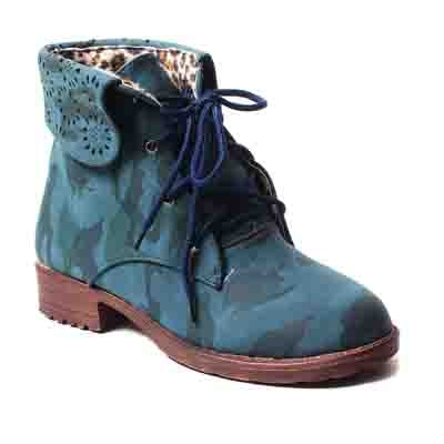 Ruby Women Blue Boots