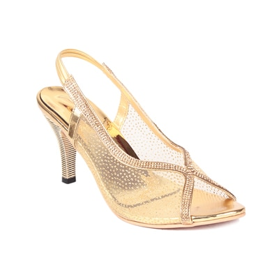 Ruby Women Golden Heels