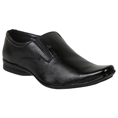 Satya Sales Black Synthetic Leather Formal Shoes