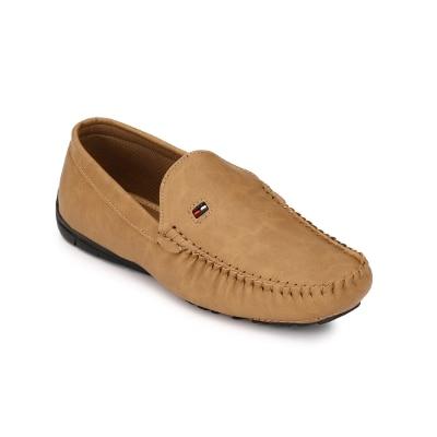 Shoe Smith Lee Cooper Men Tan Loafer Shoe