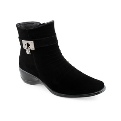 Shuz Touch Womens Black Boots
