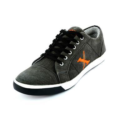 Sky Line Black Casual Shoes