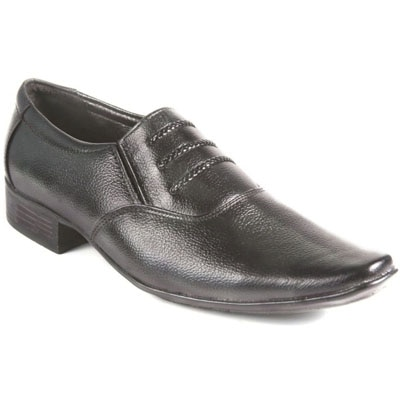 Softlike Black Formal Shoes