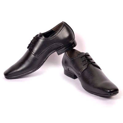 Softtoes Black Formal Shoes