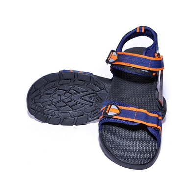 Sparx Blue And Orange Sandals