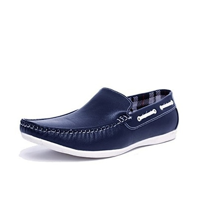 Stylish Blue Casual Loafers Shoes For Men And Boys By Coolswagg