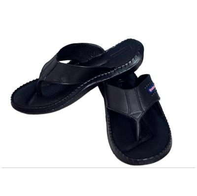 Aircum Swister Mens Black Slippers