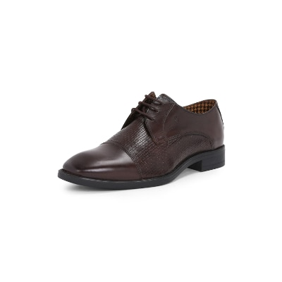 e97f96a56cb Van Heusen Brown Oxford Formal Shoes for Men online in India at Best ...