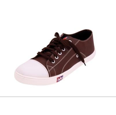 VRG Men's Brown Sneaker Sneaker Sneakers Shoes
