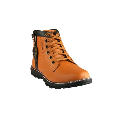 Wave Walk Brown Synthetic Boots