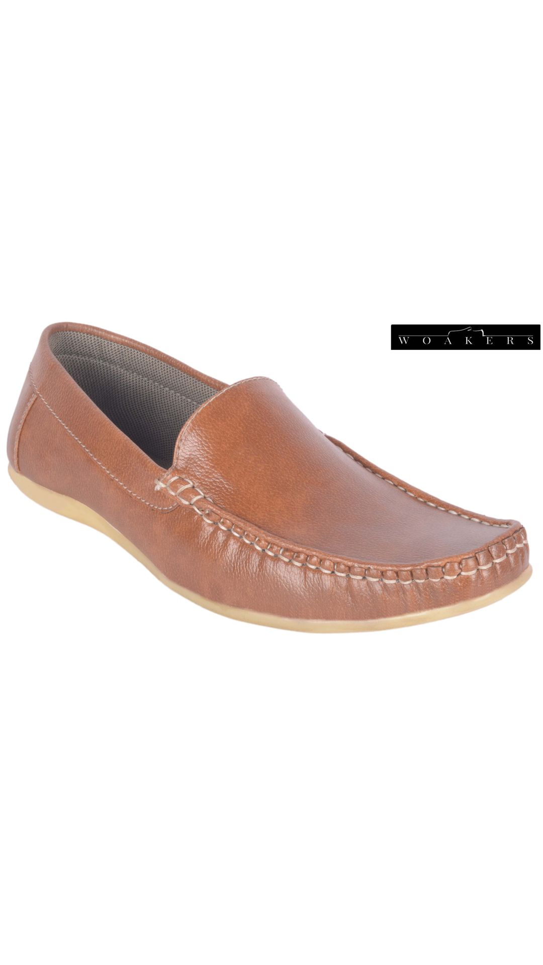 woakers styalish men's brown lofer