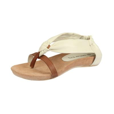 Womenz Collection White Women Sandals