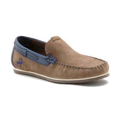 Yezdi TAUPE Leather Loafers