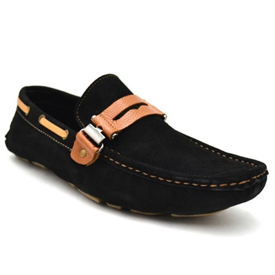Zoot 24 Black Loafers