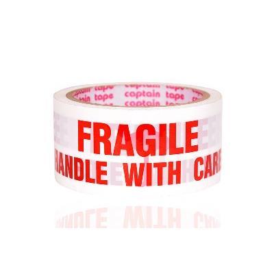 Fragile Printed Tape 45 Meter Length