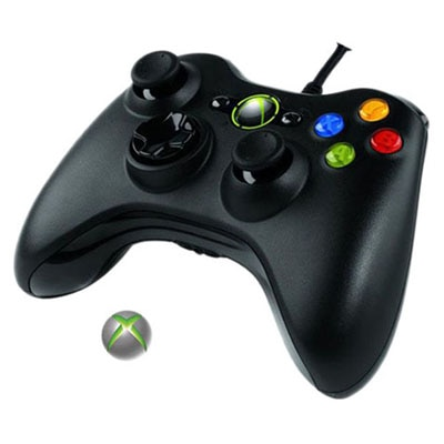 Arkay PS/2 Gamepads For Xbox 360 (Black)
