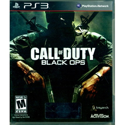 Call Of Duty : Black Ops COD (For PlayStation 3)
