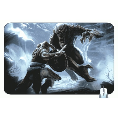 CCS Classic Printed Gaming Mouse Pad (Multi Color)