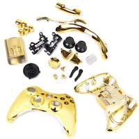 Magideal 1x Shell Case with Complete Spare Button Parts 14010287 For Xbox One (Golden)