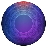 PrintVoo Circle Visualize Design Mousepad