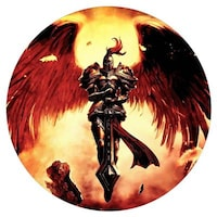 PrintVoo Warrior Angel Design Mousepad