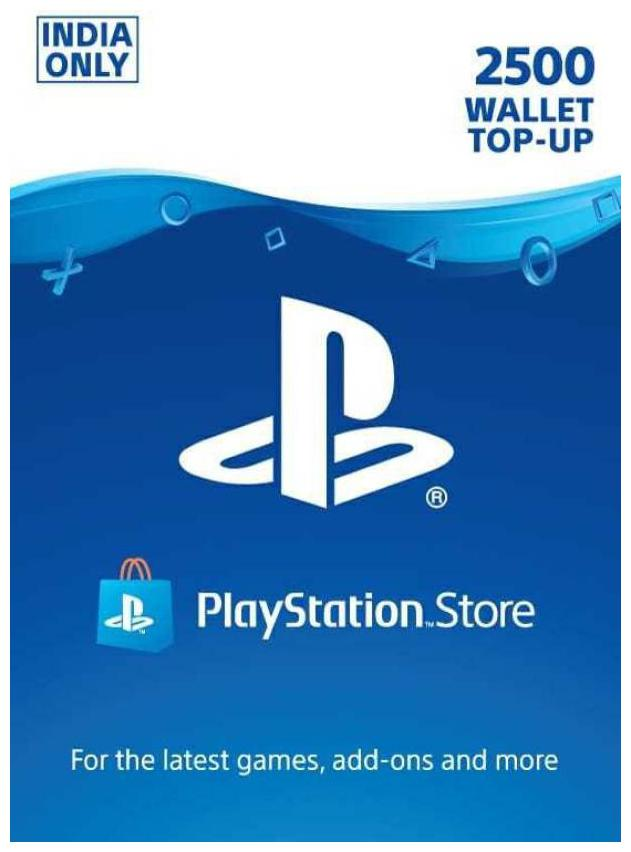 Sony 2500 PlayStation Network Wallet Top-Up