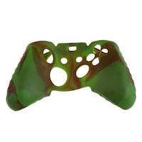 Super Grip Silicone Case Cover for Xbox One Controller Red/Green Camo Mod