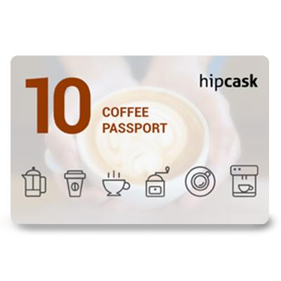 Hipcask Coffee Passport (Rs. 1000)