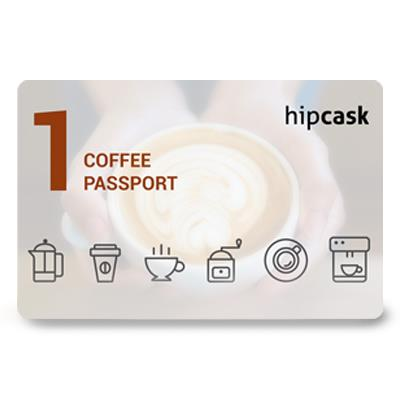 Hipcask Coffee Micro Passport (Rs. 120)