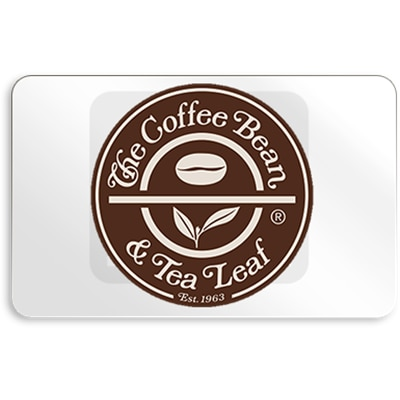 Coffee Bean and Tea Leaf E Gift Card