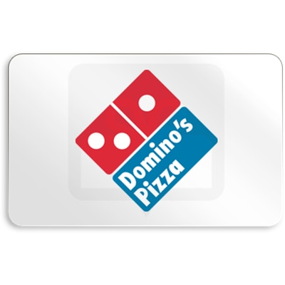 Dominos Pizza E Gift Card